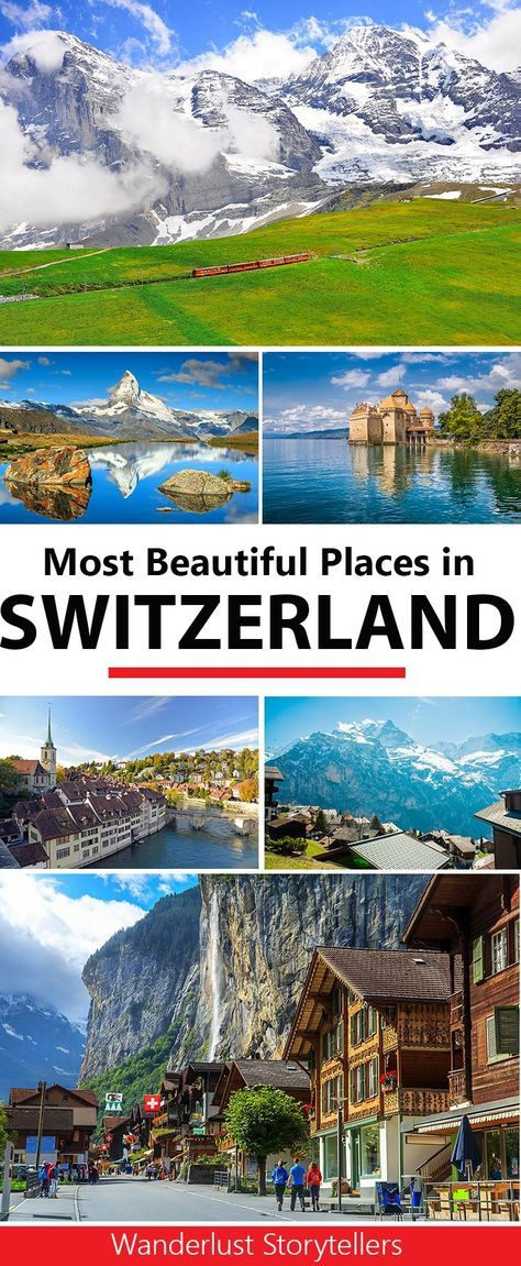 If you are after some great ideas of things to do in Switzerland, why not include some of these amazing places in your Switzerland travel itinerary. From Jungfraujoch in the Swiss Alps, Lauterbrunnen, Matternhorn, Zurich and more!