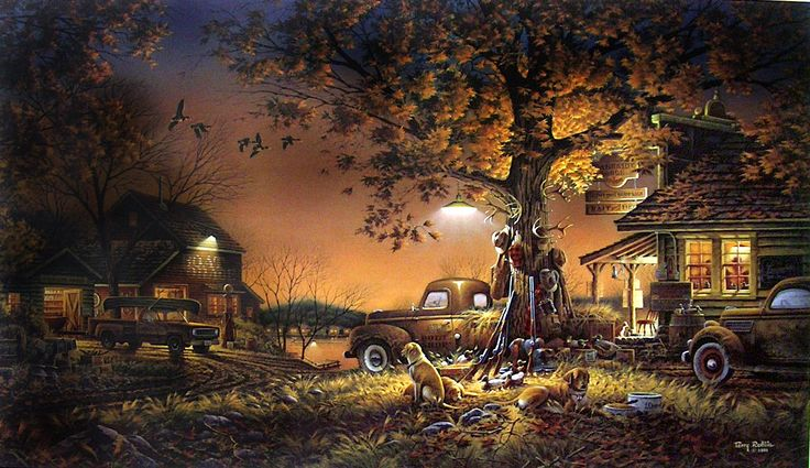 Terry Redlin. Twilight Time One of my favorites - can't ...