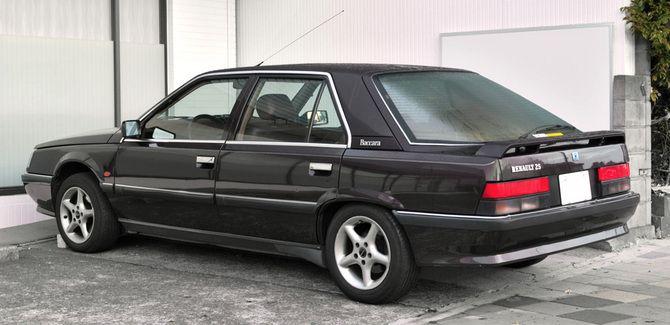 Fijnste Renault 25 die ik ooit heb gehad. De 25 V6 Turbo.