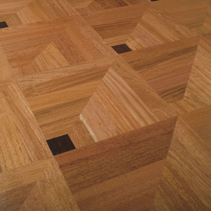 Wonderful 3D Illusion; Solid Wood Floor Tile. Http://www.archiexpo.