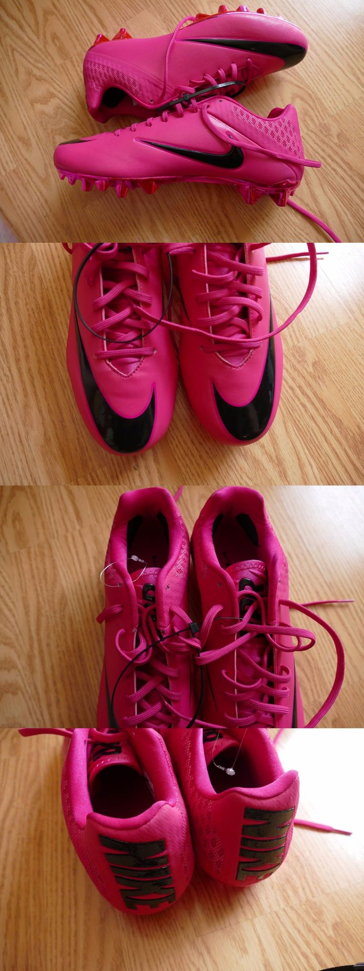 Men 159116: Nike Vapor Speed Low Pink Bca 884807 606 Untouchable Football Cleats Size 12.5 -> BUY IT NOW ONLY: $53.99 on eBay!