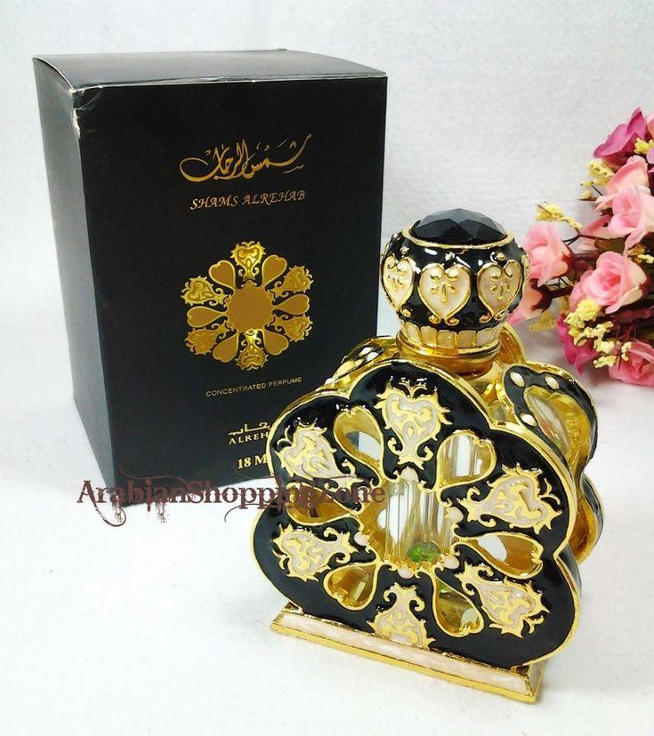 Shams Al Rehab 18ml Unisex Arabian Perfume Oil Saudi Al-Rehab Islamic Gift #AlRehab