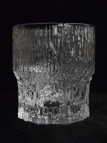 """Iittala """"Aslak"""" glass tumbler. Designed by Tapio Wirkkala"""