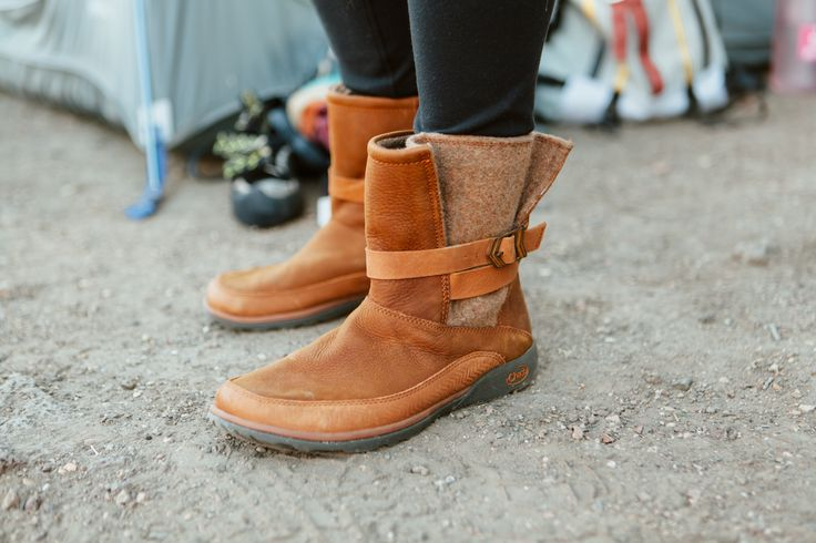 Chaco Women's Leather Boots. Featured above is the Women's Hopi, Chaco casual with cold-weather appeal.
