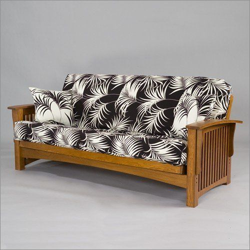 Lounger Gold Bond Manhattan Oak Futon Frame By 444 00 Available In Full