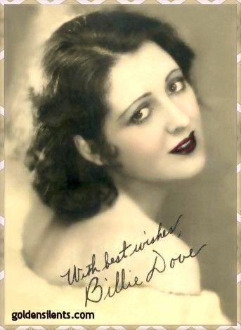 Billie Dove -- silent screen star - (1903-1997)