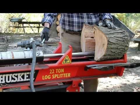 Husky 22 Ton Log Splitter Review - American-Outdoors.net