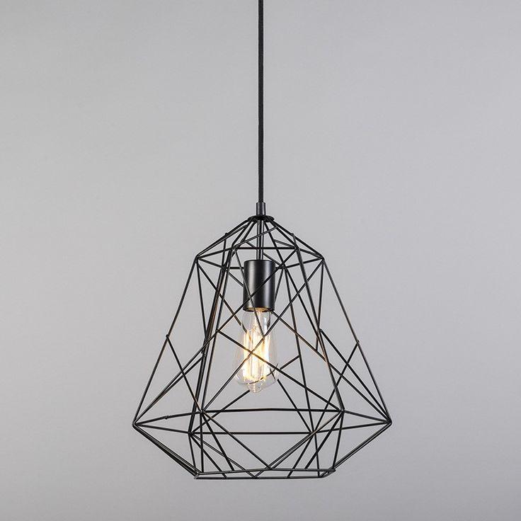 Hanglamp Framework eco zwart
