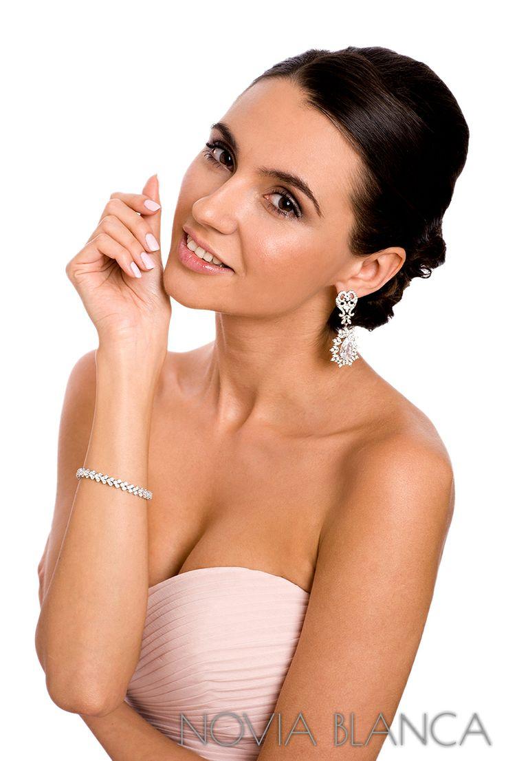 bridal jewelry by www.novia-blanca.pl biżuteria ślubna NOVIA BLANCA