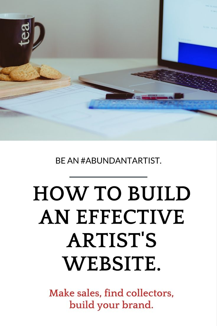 Watch our video webinar and download a free checklist created by an artist for artists to help build you build a more effective website for your business. This is the culmination of four years of experience, looking at hundreds of artist websites, and talking to successful artists from all over the globe.   About Us: The Abundant Artist is the #1 resource for helping artists sell art online.