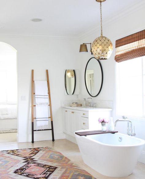 Die besten 25+ weißes Badezimmer Dekor Ideen auf Pinterest Gäste - badezimmer schöner wohnen
