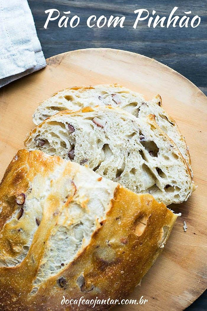 Pão com Pinhão   Do Café ao Jantar