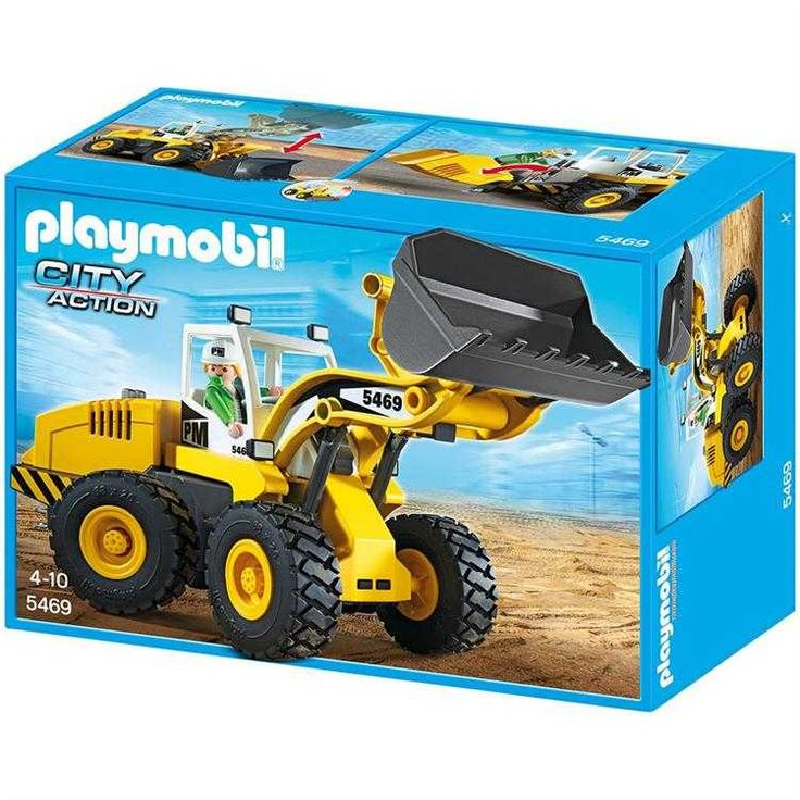 Playmobil City Action Harfiyat Dozeri Oyun Seti 5469