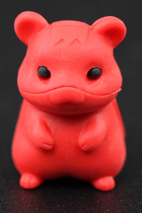 Red Hamster Eraser Series Three
