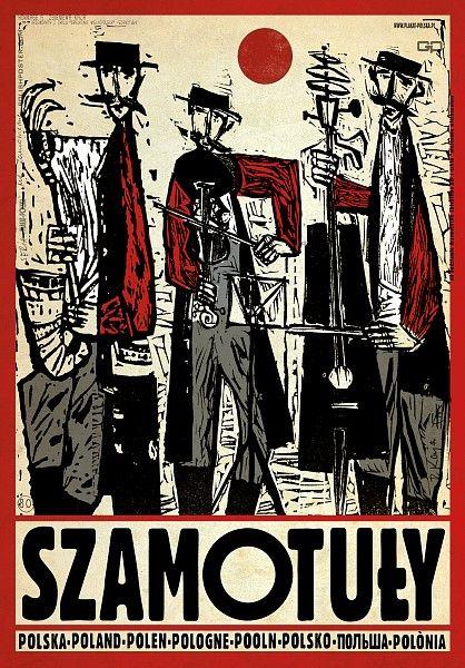Poland, Szamotuly Polska, Szamotuly Kaja Ryszard Polish Poster