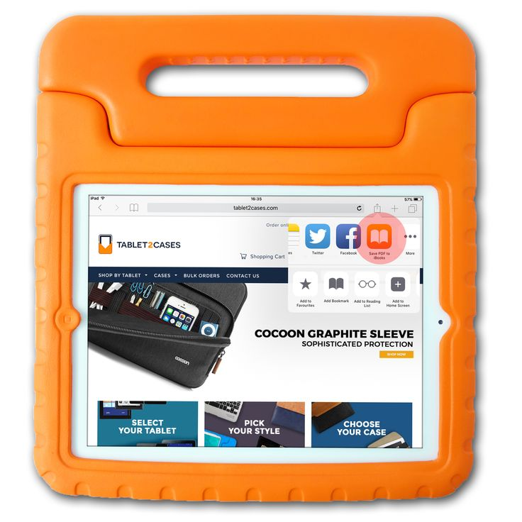 [NEW] Cooper Dynamo Rugged Kids Play Case for Apple iPad