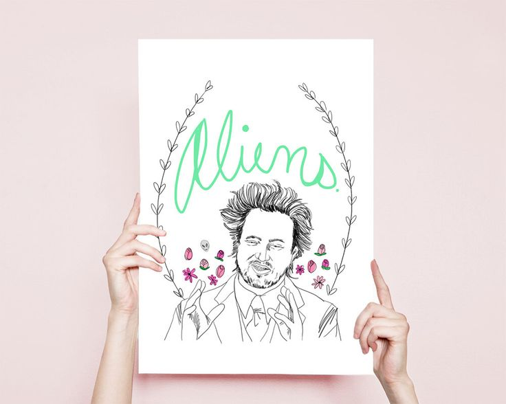 Ancient Aliens Art Aliens Ancient Aliens Drawing Giorgio Tsoukalos Aliens Funny Drawing Ancient Aliens Illustration by WaywardDaughterCo on Etsy https://www.etsy.com/listing/245976570/ancient-aliens-art-aliens-ancient-aliens