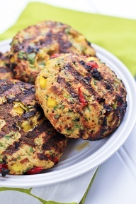 Tropical Chicken Burgers | by Sonia! The Healthy Foodie