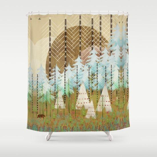 Native Summer by Bri.buckley, $68. https://society6.com/product/native-summer-hls_shower-curtain?curator=bestreeartdesigns