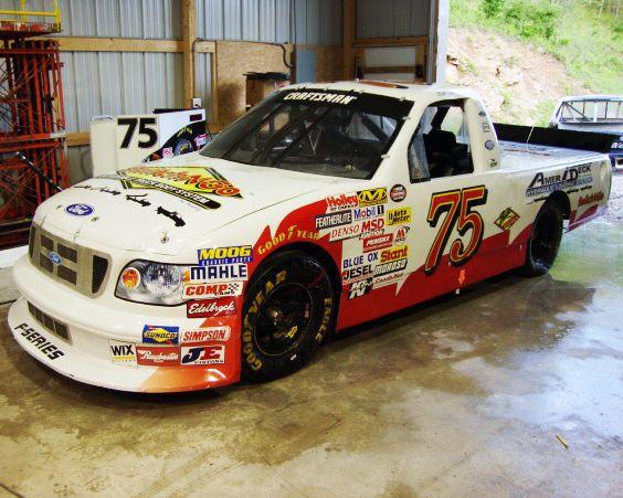 Herd Racing #75 NASCAR Ford F-Series Race Truck