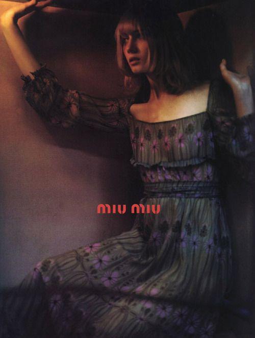 Miu Miu Fall 2001 campaign