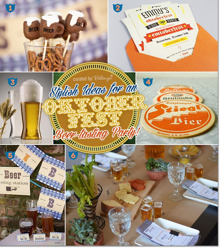Decor and favors for an Oktoberfest Beer-tasting Party | The Party Suite at Bellenza