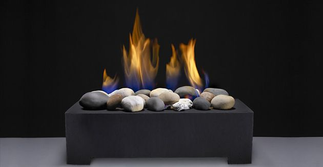 how to clean gas logs
