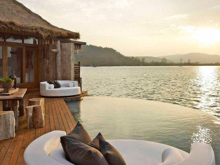 Overwater Bungalow in Cambodia : Travel's Best Honeymoons 2015 : TravelChannel.com