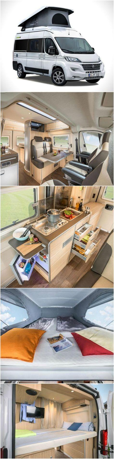 Rock Adventure Van: Leisure vehicle with bathroom