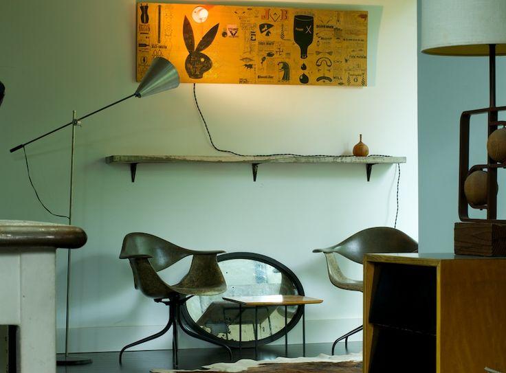 // Wooden shelf