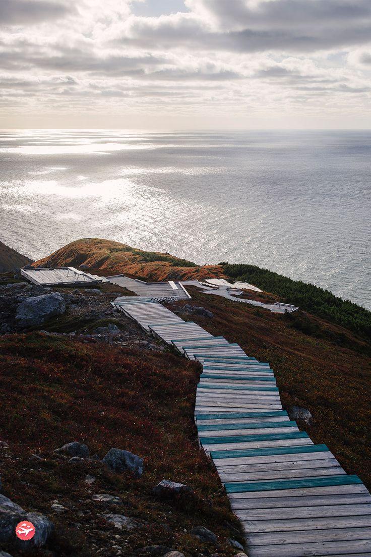 La Skyline Trail, c'est 7 kilomètres de rando au beau milieu d'un océan de verdure qui mènent tout droit sur le toit de Cape Breton au Canada.