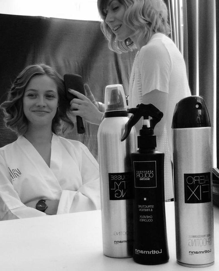 backstage shooting photo collection valentin coiffeur coloriste avec les produits de coiffure lothmann paris http - Bon Coloriste Paris