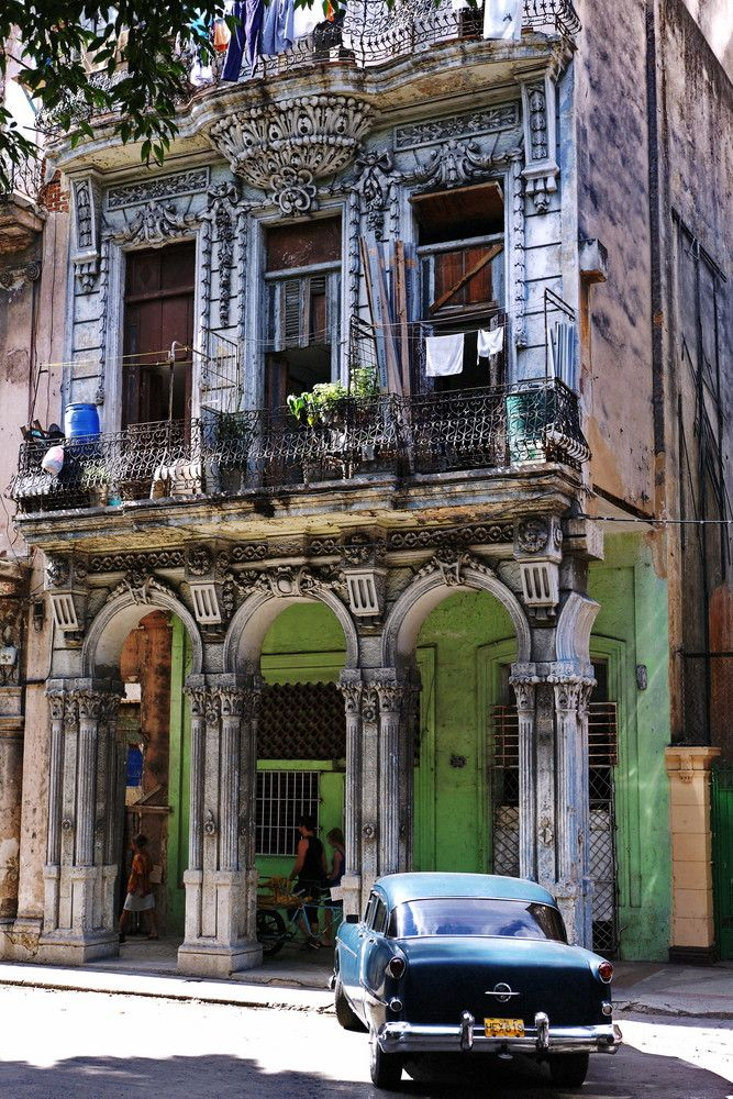 Havana, Cuba beautiful city frozen in time. I ♥ Havana…