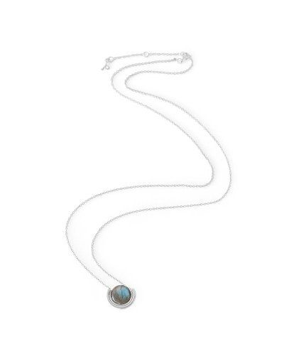 Product Image of Labradorite silver necklace #MyPoetryFavourites and #PoetryFashion