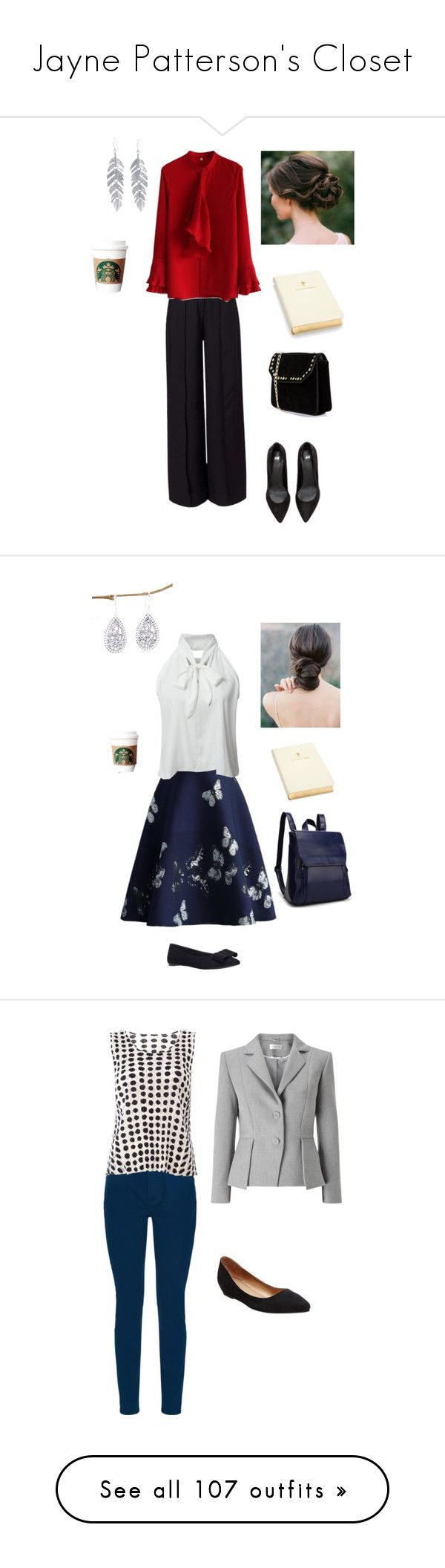 """""""Jayne Patterson's Closet"""" by capfan2014 on Polyvore featuring Miss Selfridge, Chicwish, Boohoo, Belk Silverworks, Aspinal of London, WithChic, Carvela, NOVICA, churchoutfit and Jaeger"""