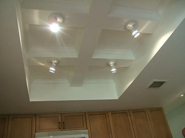 Update Old Lighting in the Kitchen to Capture the Most Money from the Sale  What if, Ceiling