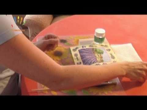 dekupázs és repesztolakk használata díszdobozhoz