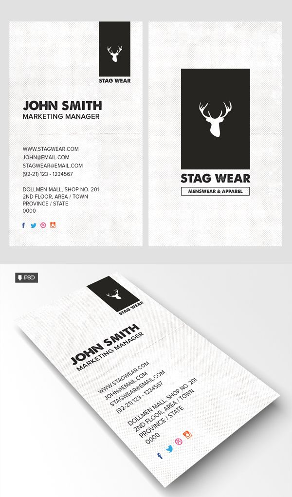 Free vertical business card psd template design pinterest free vertical business card psd template accmission Choice Image