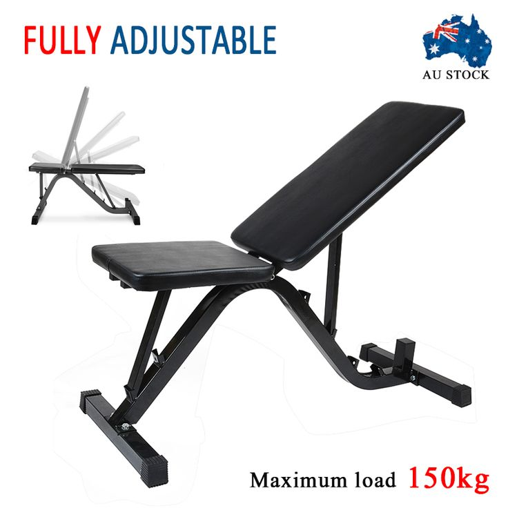 Best Cheap Weight Bench Part - 38: MAYITR Adjustable Weight FID Bench Flat Incline Home Gym Exercise Fitness  Train For Health Bodybuilding Black | Compare Best Price For MAYITR  Adjustable ...