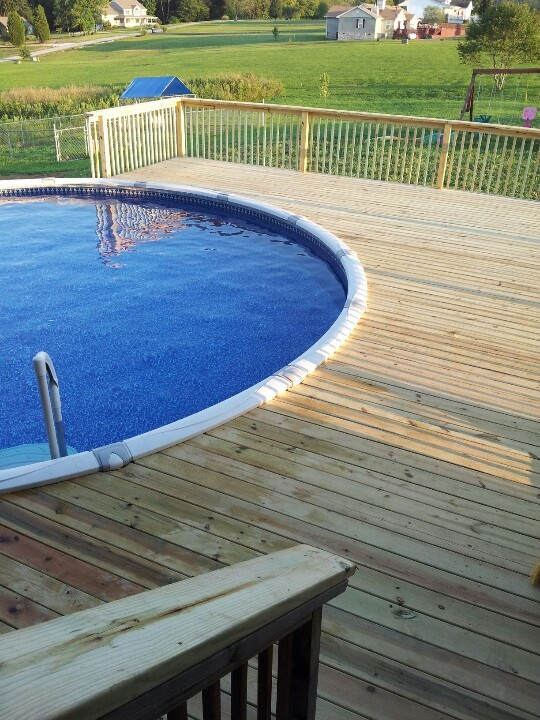 17 best images about pool on pinterest decks pool for Top of the line above ground pools