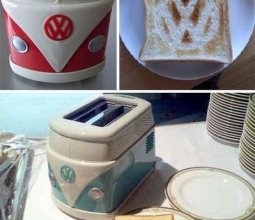 neat little Volkswagen toaster