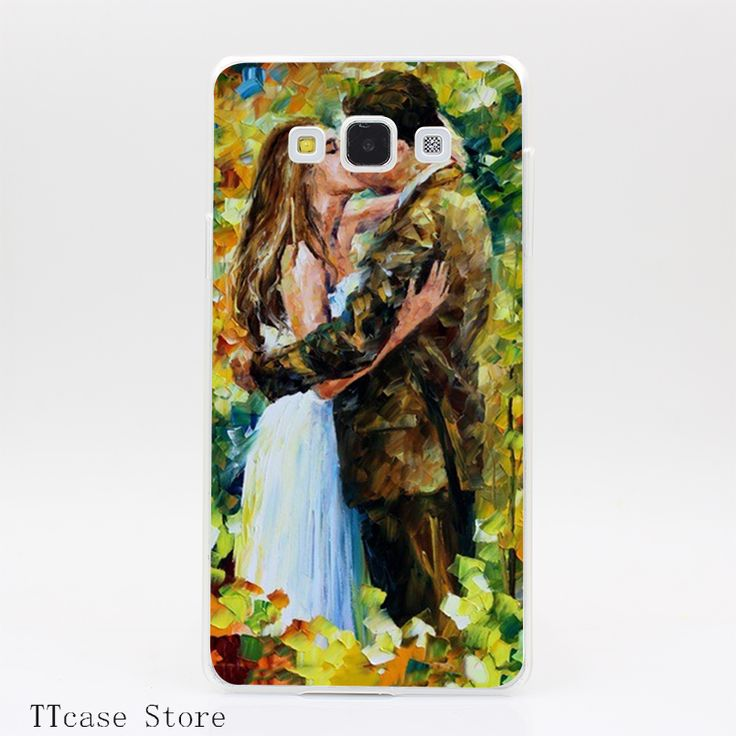 1966CA Kissing in The Woods Transparent Hard Cover Case for Galaxy A3 A5 A7 A8 Note 2 3 4 5 J5 J7 Grand 2 & Prime //Price: $US $1.61 & FREE Shipping //     #iphone