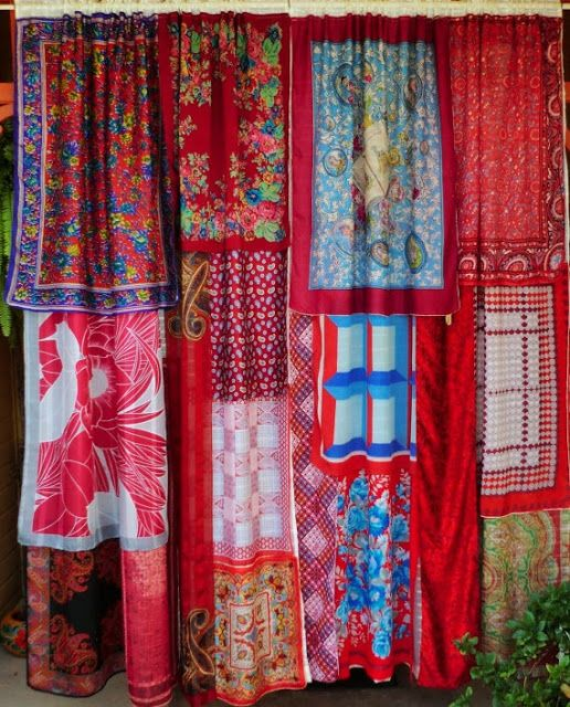 "gypsy curtains........ some look good ..... most don't ""go""..... the idea has potential ..... kp."