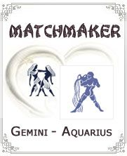 The compatibility of Gemini and Aquarius is going to be great fun.  Both the natives are going to be original and creative. The horoscope indicates that both are going to be a fun loving couple together.  Aquarius will find this relationship delightful and extremely stimulating.  Their association is going to be more like that of friends that will share great camaraderie.  There is going to be a lot in common and plenty of understanding.  There will be certain moments when the duo will act…