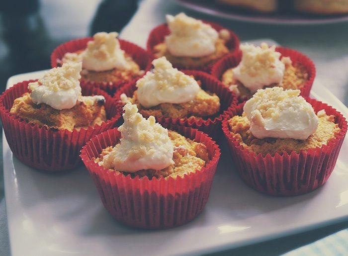 Recept // Cupcakes met Wortel, Kokos en Banaan - Moderne Hippies