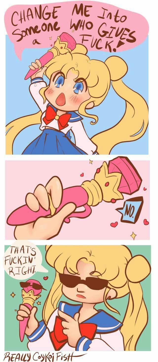 Sailor Moon fan-comic