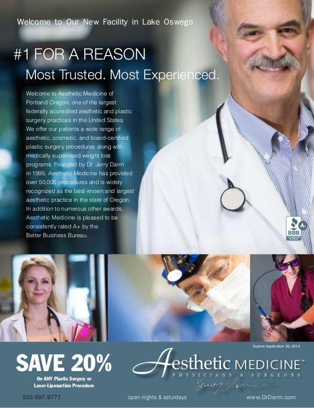 Dr. Darm, Number 1 For a Reason Online Brochure by Dr. Darm Aesthetic Medicine via slideshare