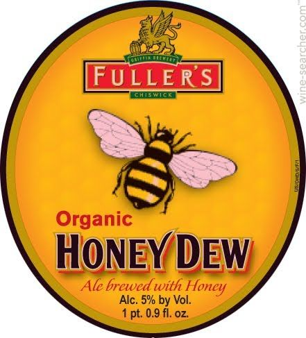 Price History: Fuller's Organic Honey Dew Ale Beer, England