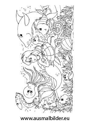 Ausgezeichnet Malvorlagen Von Ariel In Einem Kleid Ideen ...