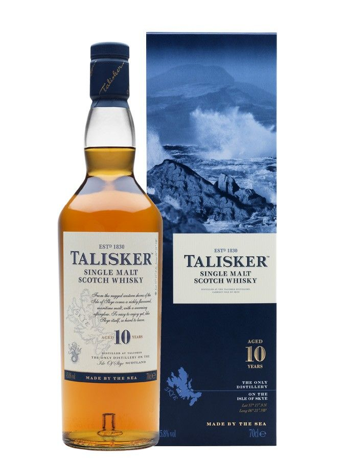 Whisky TALISKER 10 ans 45,8% - La Maison du Whisky